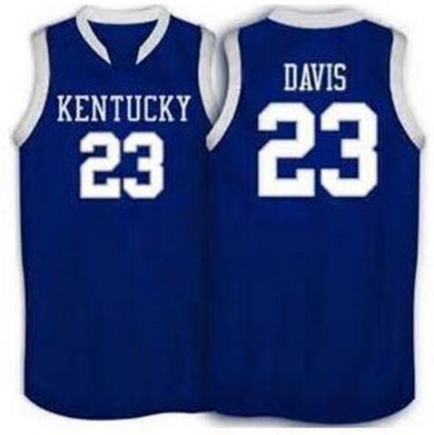 #23 Anthony Davis Kentucky Wildcats basketball Jerseys Retro Throwback Stitched Personalized Custom #1 Darius Miller Jersey(China (Mainland))