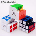 57 mm dayan 5 zhanchi magic speed cube puzzle ultra smooth cubo magico professional classical stickers