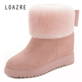 100 natural woollen fur quality sheepskin women winter warm keep shearling zip snow boots GN07
