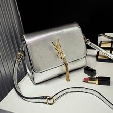 Luxury Women Handbags Famous Designer 2016 New Japanese Korean Small Fashion Tassel Silver Gold Shoulder Messenger Bags Bab33263