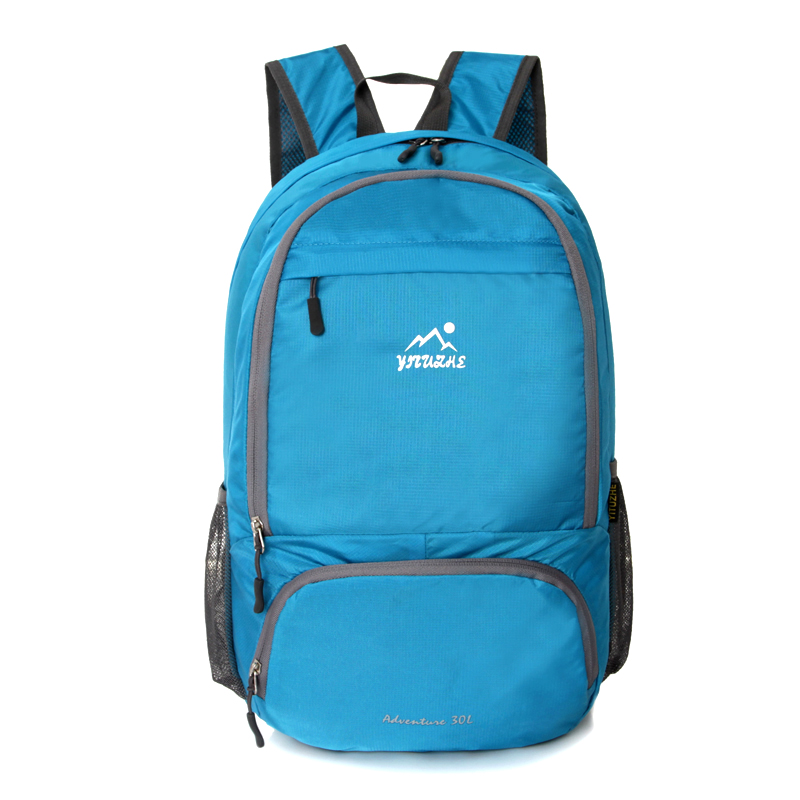 School Youth Trend schoolbag ladies female man Small Portable backpack hiking camping riding sport backpack Baby Bag 26L(China (Mainland))