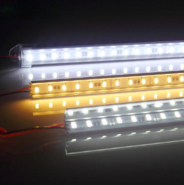 2pcs lot White Flexible Waterproof Lights High Power Car Auto Decor Flexible LED Strips Lamps EC062