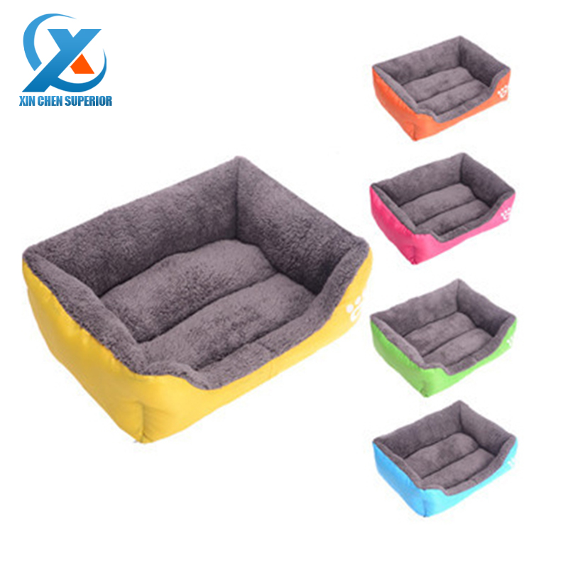 Soft Cloth Fabric Dog House Sofa Pet Bed Pet Dog Cat Kennel Furniture Dogs Indoor Sleeping Kennel Doghouse Pet Bed for Dogs Cats(China (Mainland))