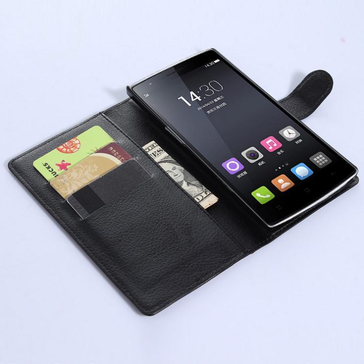 Гаджет  Free shipping For oneplus one Case  Flip wallet Leather Cover Case one plus one  Mobile Phone Bag None Телефоны и Телекоммуникации