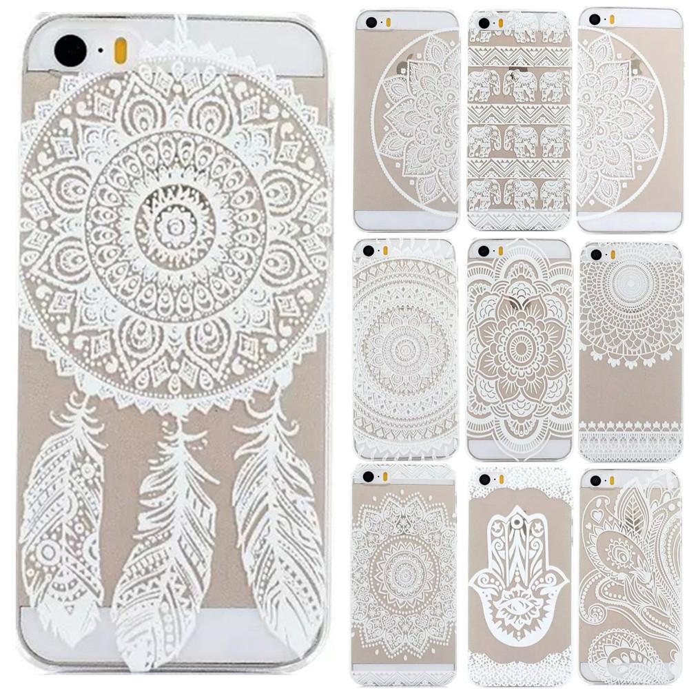 Гаджет  Plastic Back Case Cover For iPhone  5 5S  HENNA OJIBWE DREAM CATCHER Ethnic Tribal None Телефоны и Телекоммуникации