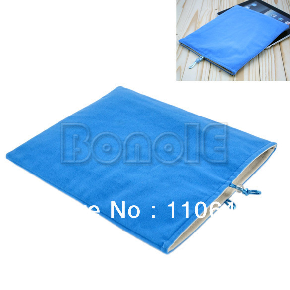 Flannelette Soft Sleeve Case Cover Pouch Bag for ipad 2/3/4  9678