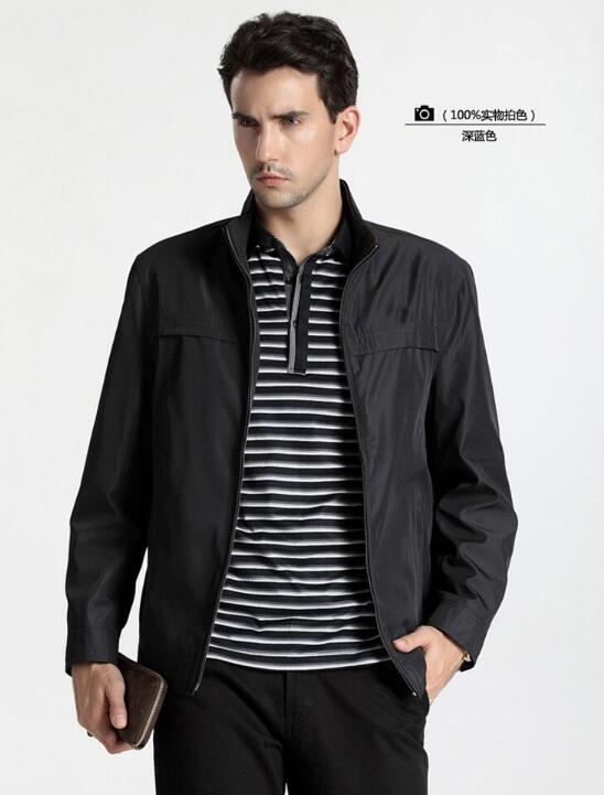 Sell Like Hot Cakes 2017 Spring and Autumn Male New Fashion Wear Thin Collar Jacket In The Leisure Coat /S---XXL(China (Mainland))