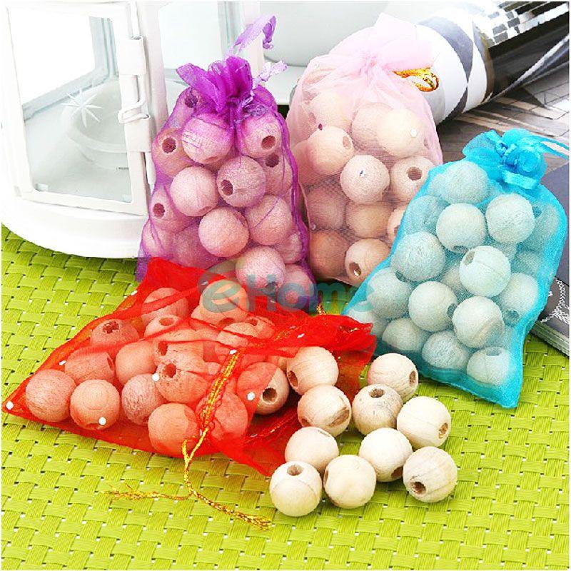 60Pcs Cedar Moth Balls Wood Camphor Bug Repellent Wardrobes Cloth Drawers 3 Bag EH#57598(China (Mainland))