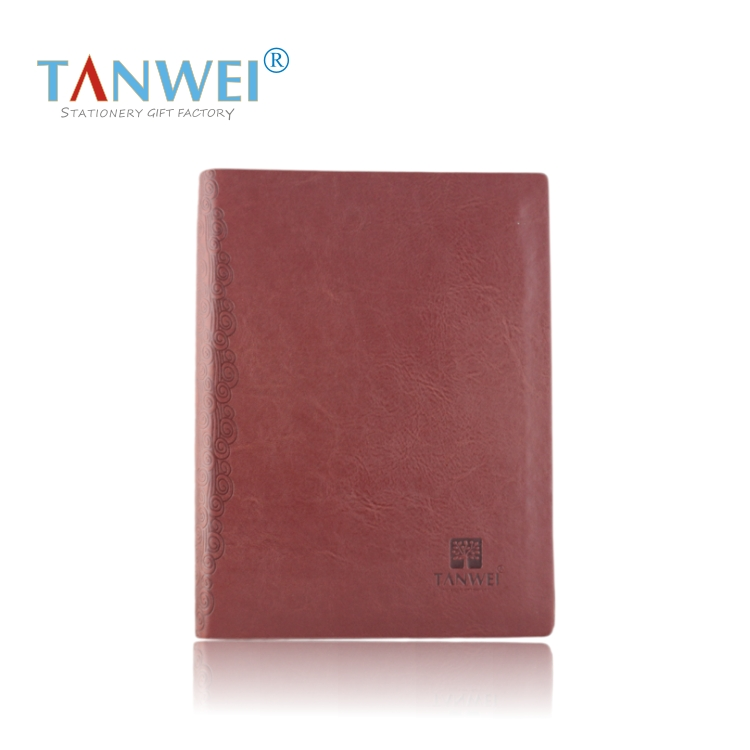 A5 loose-leaf faux leather notebook commercial notepad diary book quality gift - tiantiankuaile store