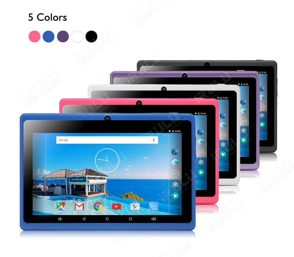 Original iRULU X3 eXpro the 7 inch Tablet PC Google Andriod 6.0 Quad Core Graphics Tablets 1024×600 Dual Cameras Wifi 1G+8G ROM