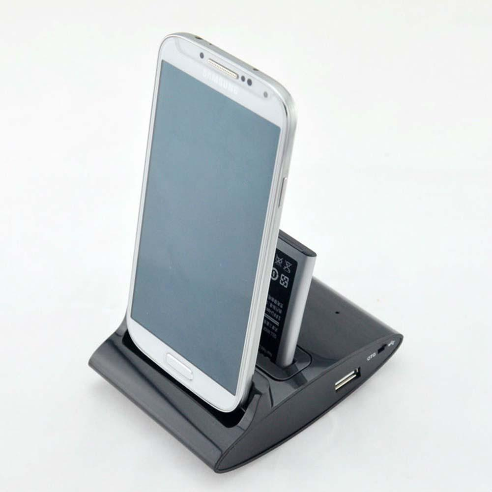 Dual Sync Battery Charger Cradle Dock Station Stand For Samsung Galaxy S3 B OTG Dock docking station charging dock station APE(China (Mainland))