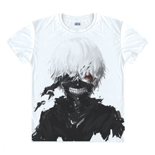 Hot Cool Tokyo Ghoul O-neck Casual T shirt Short Sleeve For Men T-shirt for Gameplayer Man Woman T-shirts