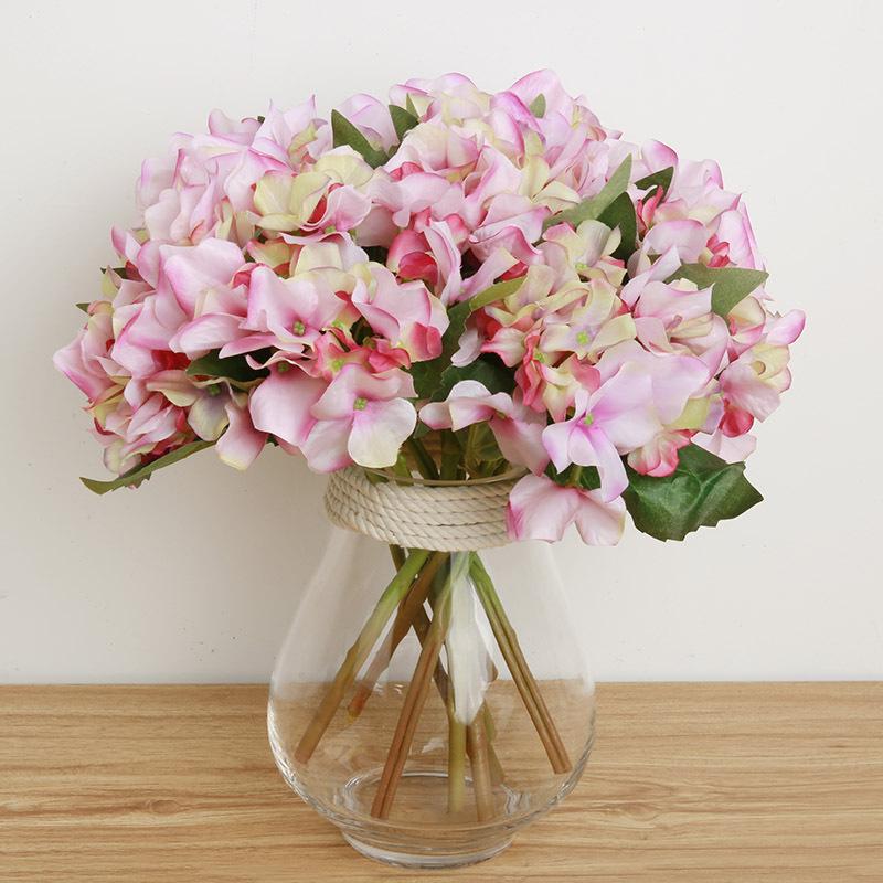 Artificial hydrangea silk flower artificial flowers for for Artificial flowers decoration ideas