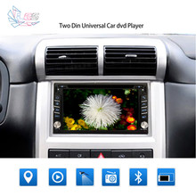 2 din 100% New universal Car Radio Double 2 din Car GPS Navigation In dash Car PC Stereo video+Steering Wheel+Mirror Link(China (Mainland))