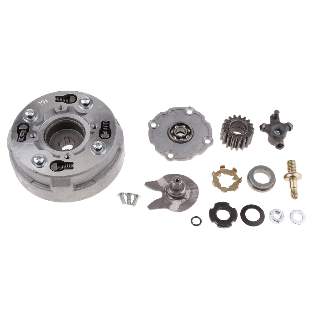 Alloy Semi Automatic Clutch Assembly for 90cc ATV, Scooters, Quad Dirt Bikes, Go-kart Parts