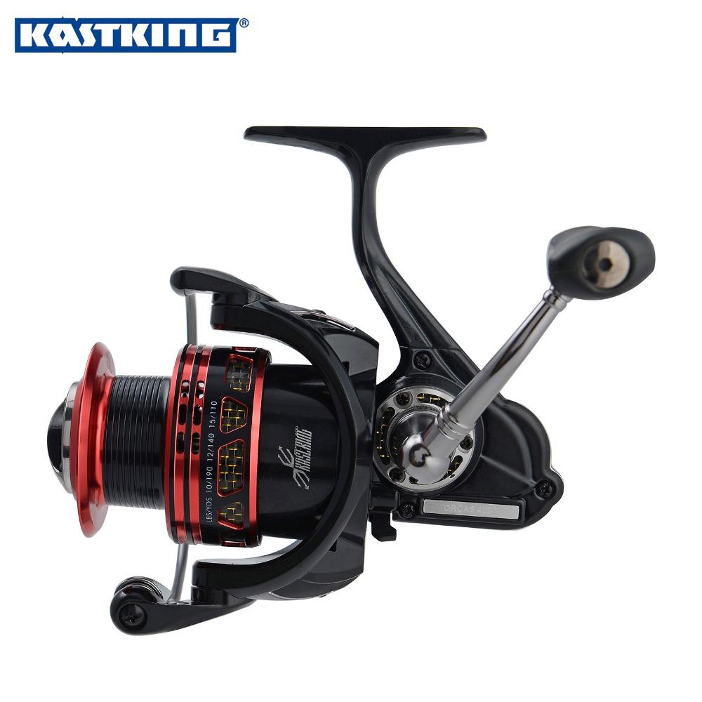 KastKing New KastKing 13BBs Metal Body Carbon Fiber Drag Spinning Reel 2000 Series Max Drag 12KG Spinning Boat Sea Fishing Reel(China (Mainland))