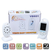 2.0 inch Color Video Wireless Baby Monitor 2 Way Talk Nigh Vision IR LED Temperature Baby Camera Monitoring with 8 Lullabies(China (Mainland))