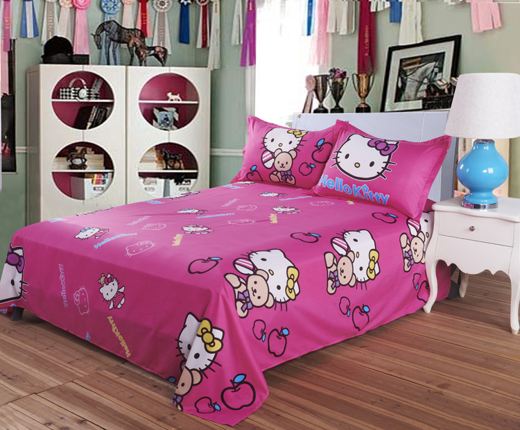 bedding set hello kitty bed set comfortable bedclothes hello kitty bed