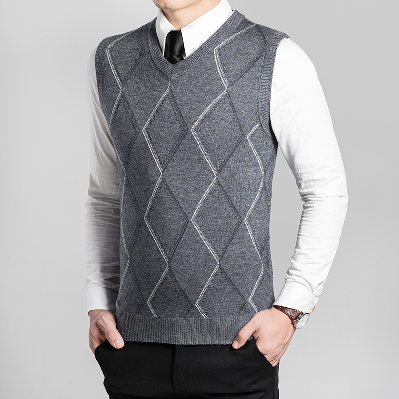 Popular Men Sweater Vest Knitting Pattern-Buy Cheap Men Sweater Vest Knitting...