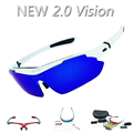 Upgraded 2 0 Vision REVO Polarized Cycling Glasses Outdoor Sports Bicycle Bike Sunglasses TR90 Goggles Quality
