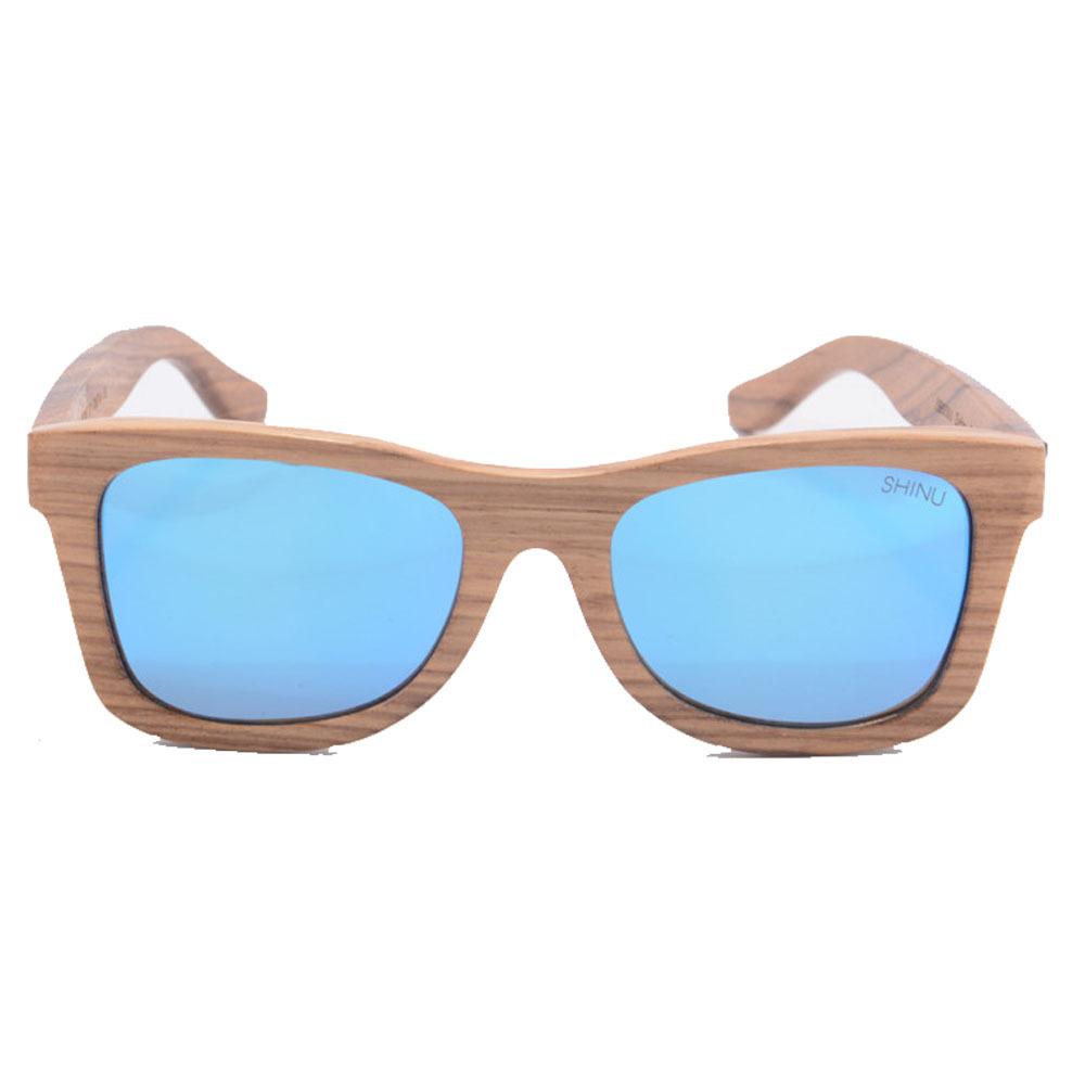 SHINU zebra sunglasses wooden frame sun glasses 2015 Bule ...