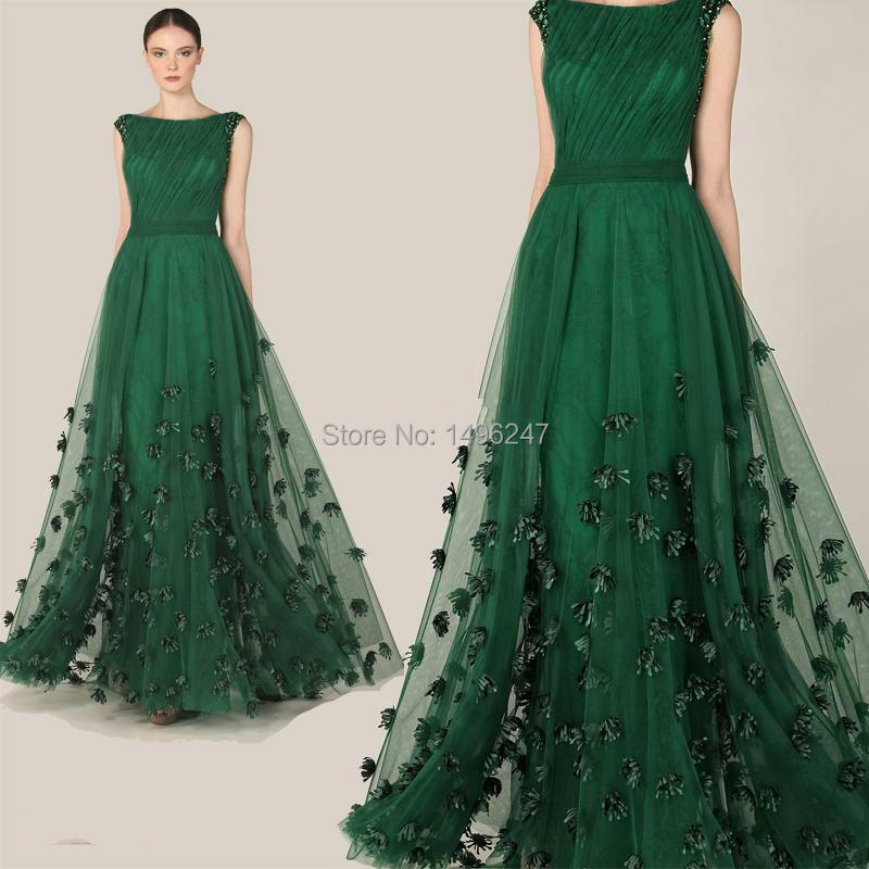 High Quality Green Prom Gown-Buy Cheap Green Prom Gown lots from ...