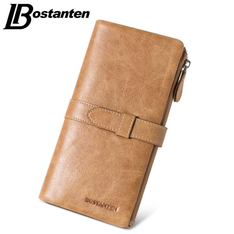 Bostanten Fashion Retro Men Wallets Genuine Leather Drawstring Wallet Luxury Brand Long Men Clutch Wallet Coin Purse Card Holder(China (Mainland))