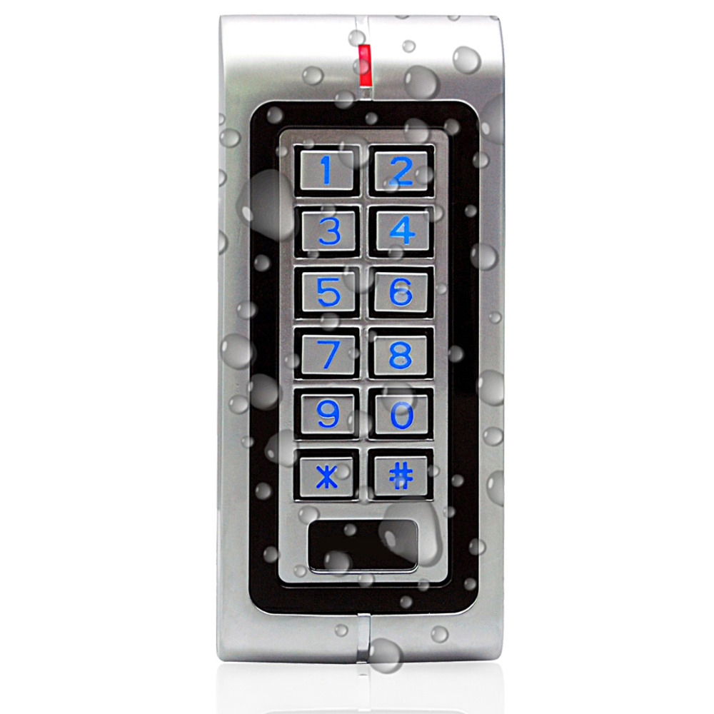 High Level of Security Metal Case IP65 Waterproof Two-door Standalone Access Control Keypad Machine Unit Controller<br><br>Aliexpress