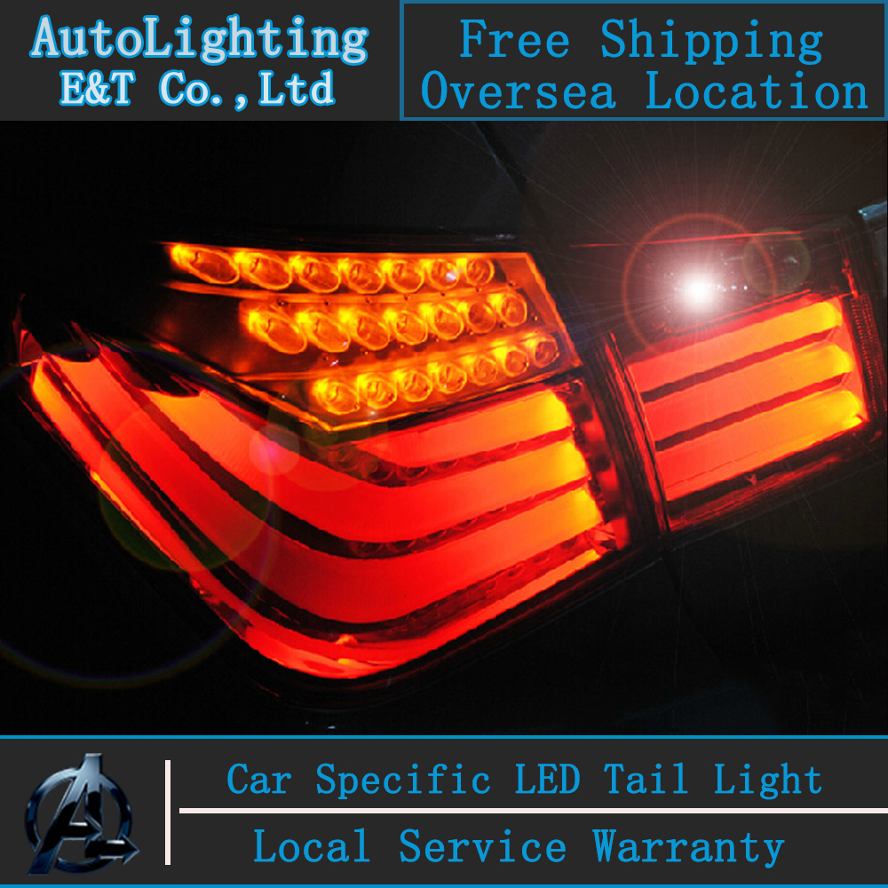 Auto Lighting Style LED Tail Lamp for Chevrolet Cruze led tail lights BMW Design rear trunk lamp cover drl+signal+brake+reverse(China (Mainland))