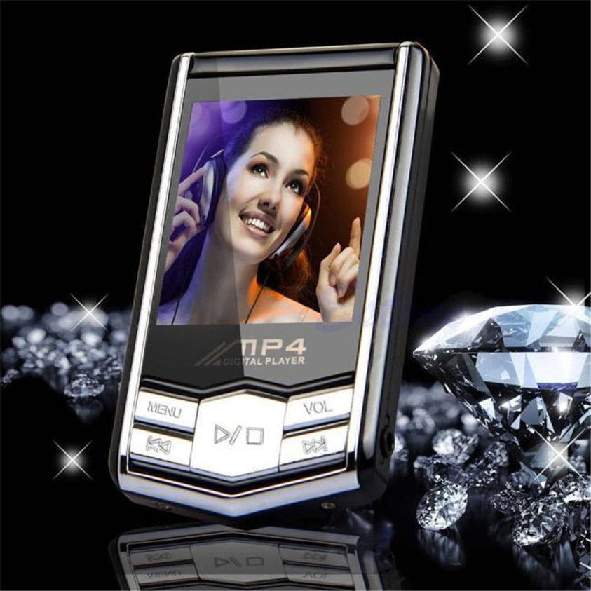 "HL 8GB Slim MP4 Music Player With 1.8"" LCD Screen FM Radio Video Games & Movie Mar25(China (Mainland))"