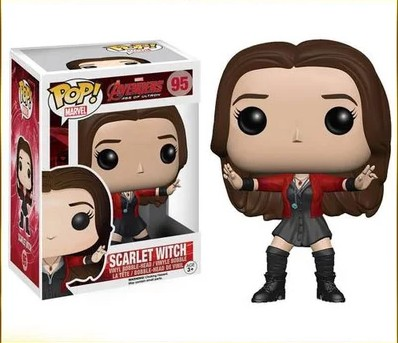 Genuine original  The Avengers Scarlet  Witch 12cm model doll  ornaments
