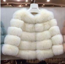 2015 Hot-Selling Winter coat long Striped Fur Coat Luxury Fox Fur Coats Women Fashion Fur Overcoat(China (Mainland))