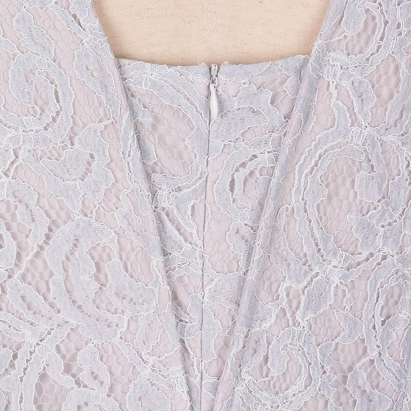 Nemidor Women\'s Full Lace Plus Size Evening Maxi Dress (4)