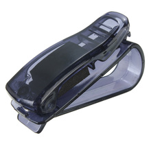 High quality Portable ABS Clips Car Vehicle Sun Visor Sunglasses Eyeglasses Glasses Ticket Holder Clip auto fastener clip(China (Mainland))