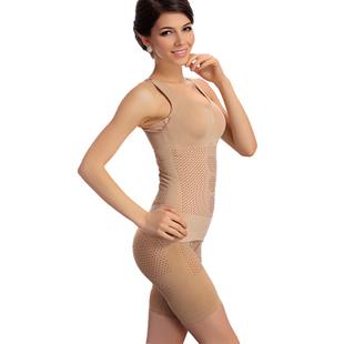 High Quality Women Beauty Bodysuits Slim Underwear Slimming Suits Body Shaper Sets FIR Far IR Sculpting Underwear Free Size(China (Mainland))