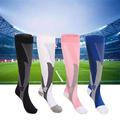 Men Women Leg Support Stretch Outdoor Sport Socks Knee High Compression Socks Men Running Snowboard Socks