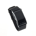 Black Fashion LED Watch Date Sports silicone bracelet watch women men digital watch clock sports watch