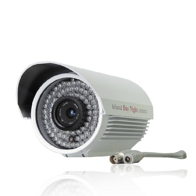 "outdoor Effio-es 1/3""CCD color sensor 750TVL 84 Leds CCTV Security Camera metal house FC24"