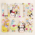 Cute Mickey Minnie Tsum Sulley Daisy Mike Ultra Slim Clear TPU Phone Cases Cover For iPhone