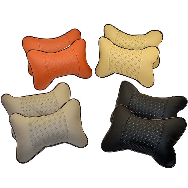 Car Seat Neck / Head Pillow Soft Back Cushion Winter car pillow car headrest seat cushion seat cover(China (Mainland))