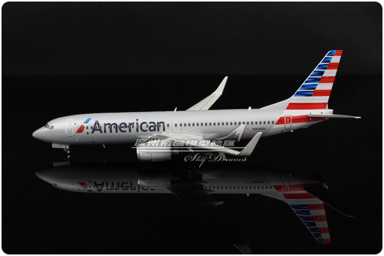 19.7cm 1:200 Air American Airlines Boeing B737 800 N908NN Airways Airplane Model Plane Model Toy Collections Gift(China (Mainland))