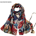 2016 luxury brand Women Scarves Print Scarves Wraps Shawl Scarf Women Bufandas Mujeres Foulard scarves for