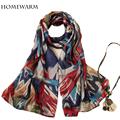 2017 spring luxury brand Women Scarves Print Scarves Wraps Shawl Scarf Women Bufandas Mujeres Foulard scarves