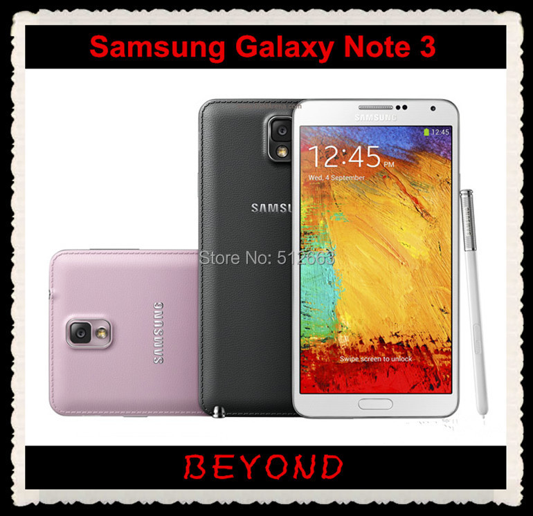 """Samsung Galaxy Note III N9005 Original Unlocked 3G&4G GSM Android Mobile Phone SM-N9005 Quad-core 5.7"""" 13MP WIFI GPS 16GB(China (Mainland))"""