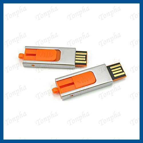 Free shipping  MOQ just 1pc  slide mini gift  USB flash pendrive   2gb 4gb 8gb 16gb 32gb