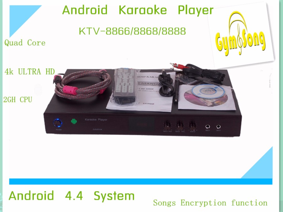 Free shipping  ! Factory Wholesale  Android HDD HD  KARAOKE Player  home KTV  Karaoke system Machine<br>