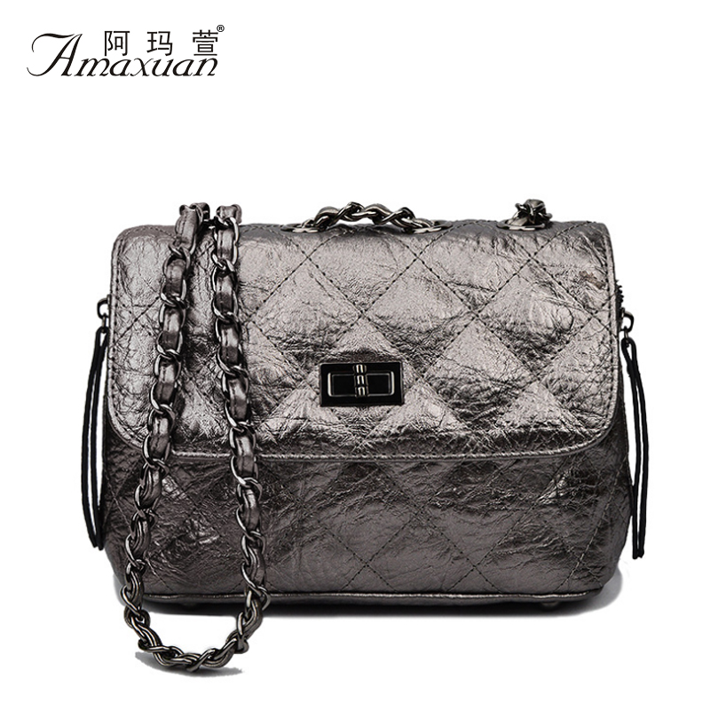 New Handbags High Quality Women Genuine Leather Embossing Chain Women Shoulder Bags Messenger Bags Ladies Casual Handbags BH1229<br><br>Aliexpress