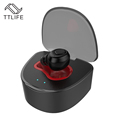 TTLIFE New Arrival Mini Wireless Bluetooth Earphone Noise Reduction Charging Box Invisible IN Ear Hands free