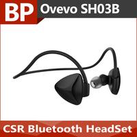 OVEVO SH03B NFC Bluetooth Wireless Stereo BT4.0 Sport Headphone Capacitive MIC Sweatproof Dustproof Shockproof Headset