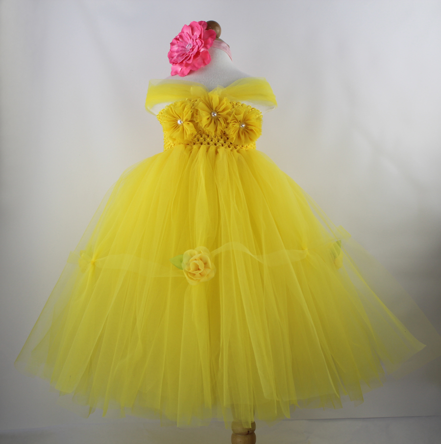 2016 Infant Princess Baby Girls Dress Tutu Baby Girl